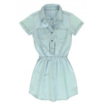 Youth Tonic teen girls dress light blue (5 pcs)