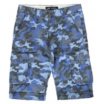 139023 Psychotropical teen boys bermuda blue (10 pcs)
