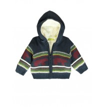 139520 Humanature baby boys cardigan outer space + vineyard green (8 pcs)