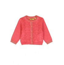 139557 Dark Wonder baby girls cardigan pink + sodalite blue (8 pcs)