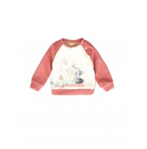 139579 Dark Wonder baby girls sweatshirt pink + outer space (8 pcs)