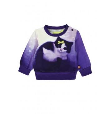139584 Dark Wonder baby girls sweatshirt outer space + virtual pink (8 pcs)