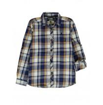 139614 teen boys blouse blue/white(10 pcs)