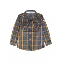 139808 Dark wonder small boys  shirt cathay spice checks (10 pcs)