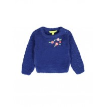 139850 Humanature baby girls pullover sodalite blue + potpourri (8 pcs)