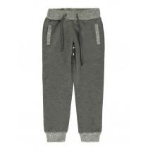 139888 Dark Wonder small girls jogging pant grey melange + blue (12 pcs)