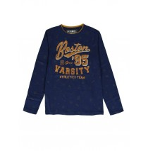 140113 Worldhood teen boys t-shirt medieval blue + grey melange (12 pcs)