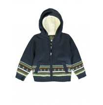 140133 Humanature small boys cardigan outer space + vineyard green (12 pcs)