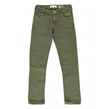 140217 Dark wonder teen boys denim pant forest green (10 pcs)