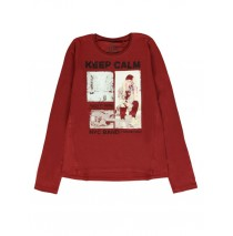 140278 Dark Wonder teen girls pullover ruby wine + antra melange (12 pcs)