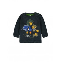 140291 Humanature baby boys t-shirt outer space + vineyard green (8 pcs)