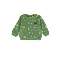 140329 Humanature baby boys sweatshirt vineyard green + outer space (8 pcs)