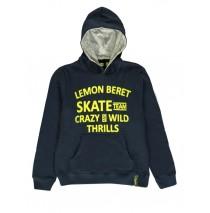 140364 Dark wonder teen boys sweatshirt blue melange + dark grey melange (12 pcs)