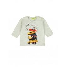 140369 Worldhood baby boys t-shirt lt grey melange + palace blue (8 pcs)