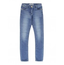 140388 teen girls Jog denim pant skinny fit blue (10 pcs)