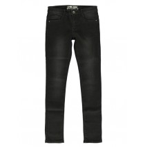 140389 teen girls skinny fit jog denim pant black (10 pcs)
