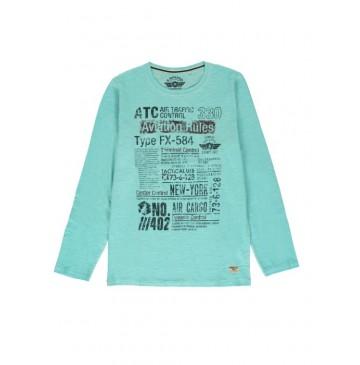 140414 Humanature mens t-shirt porcelain + kaki + grey melange (18 pcs)
