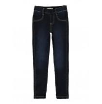140421 Small girls skinny fit denim pant dark blue (10 pcs)