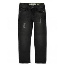 140443 Small boys denim pant dark grey blue (10 pcs)