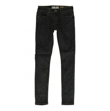 140463 Teen boys Jog denim pant skinny fit grey (10 pcs)