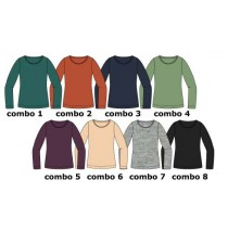 140470 Basic ladies t-shirt 8 colours (40 pcs)