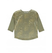 140473 Dark wonder ladies t-shirt gold + silver (18 pcs)