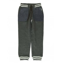 140494 The thinker small boys jogging pant dark grey melange + blue melange (12 pcs)