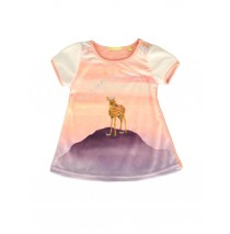 140499 Humanature baby girls dress peach amber + sodalite blue (8 pcs)