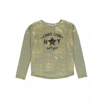 140502 Dark Wonder teen girls t-shirt gold (10 pcs)