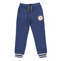 140503 Dark wonder jogging pant  medieval blue + dark grey melange (12 pcs)