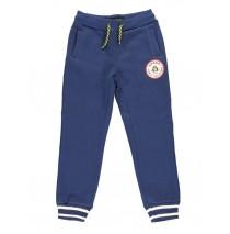 140503 Dark wonder jogging pant  medieval blue + dark grey melange (12 pcs)