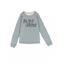 140506 The Thinker teen girls sweatshirt blue + grey melange (12 pcs)