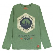 140516 Worldhood mens t-shirt duck green+ruby wine+antra melange (18 pcs)