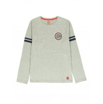 140519 Worldhood mens t-shirt grey melange + outer space (18 pcs)