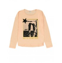 140606 The Thinker teen girls t-shirt pale blush + lunar rock (12 pcs)