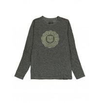 140666 The thinker mens t-shirt grey + kaki (18 pcs)
