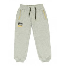 140676 Small boys jogging pant grey melange + dark grey melange (12 pcs)