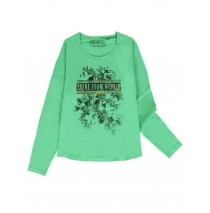 140730 Humanature ladies t-shirt green bay + grey melange (18 pcs)
