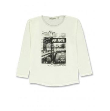 140745 Humanature ladies t-shirt marshmallow + tempest + pearl (24 pcs)