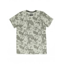 140790 Humanature mens t-shirt grey melange + zinfandel (18 pcs)