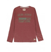 140794 Humanature mens t-shirt bordeaux+medieval blue+grey (18 pcs)