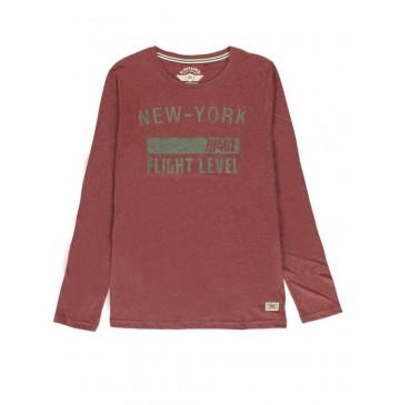 140794 Humanature mens t-shirt bordeaux+medieval blue+grey (18 pcs)
