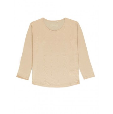140802 Thinker ladies t-shirt pale blush+gray dawn+grey melange (24 pcs)