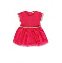 140806 Worldhood baby girls dress virtual pink+galaxy blue (8 pcs)