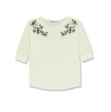 140814 Humanature ladies t-shirt marshmallow + tempest + pale blush (24 pcs)