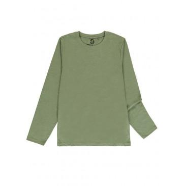 140815 Basic mens t-shirt kaki + beige + blue + antra melange (24 pcs)