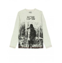 140830 Humanature teen boys t-shirt light grey melange + grey melange (12 pcs)