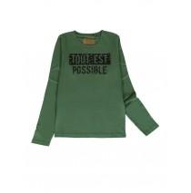 140834 Humanature ladies t-shirt duck green+beige+antra melange (24 pcs)