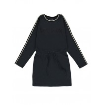 140917 Dark Wonder teen girls dress outer space + grey melange (12 pcs)