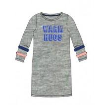 140972 Worldhood teen girls dress grey melange (10 pcs)